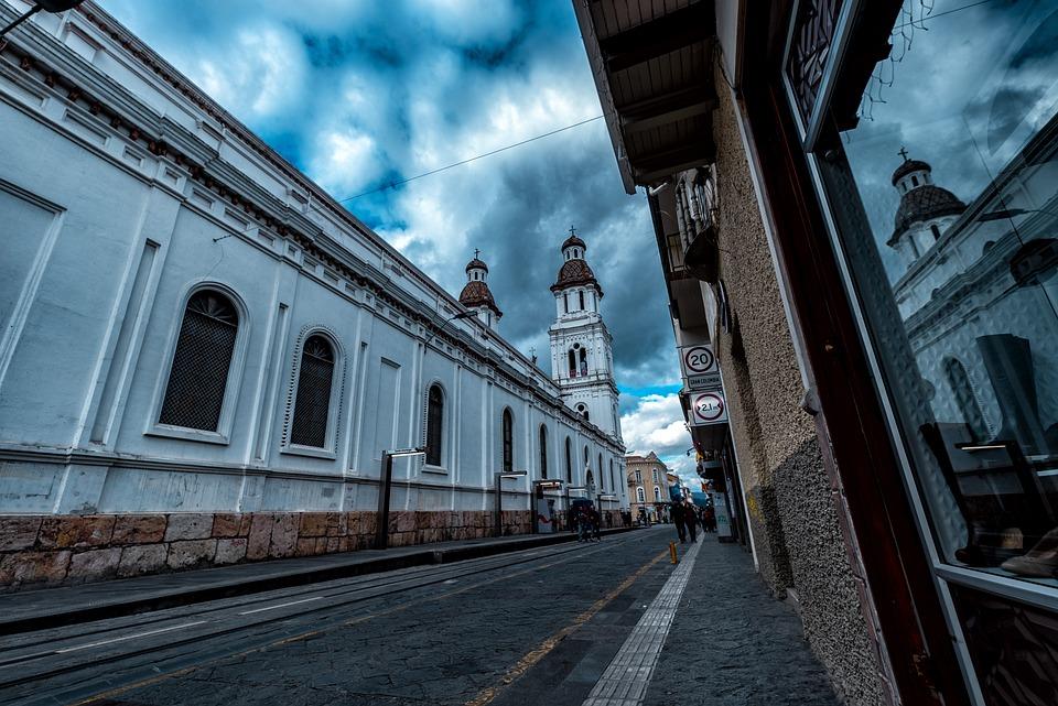 Church Of Cuenca, Architecture, City, America, Justice