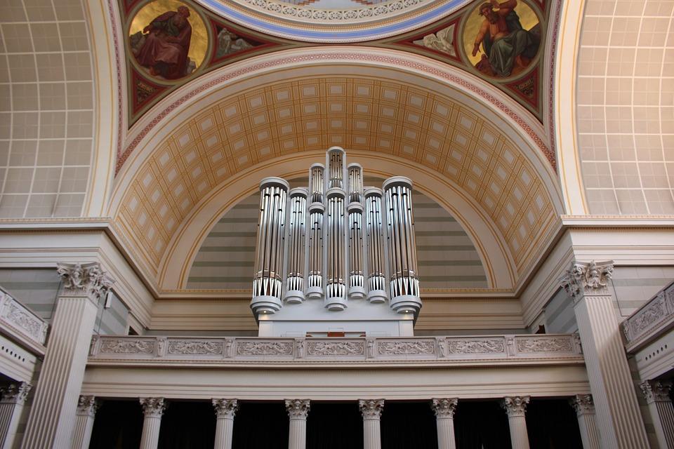 Organ, Musical Instrument, Church