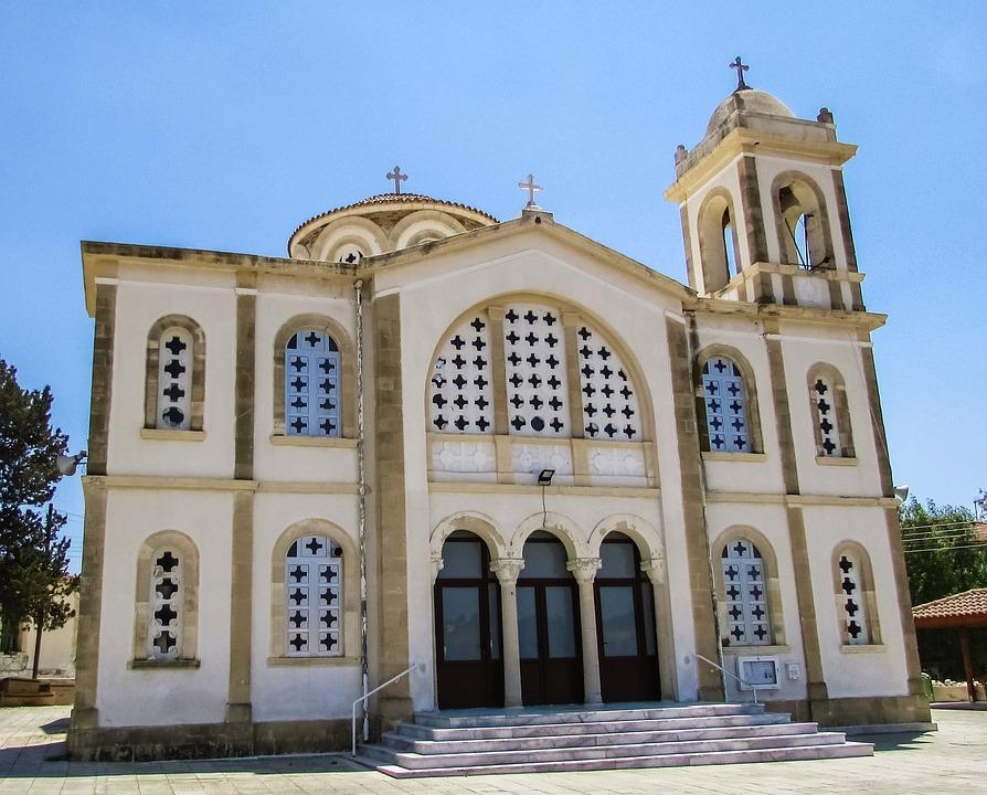 Cyprus, Alethriko, Church, Orthodox, Architecture