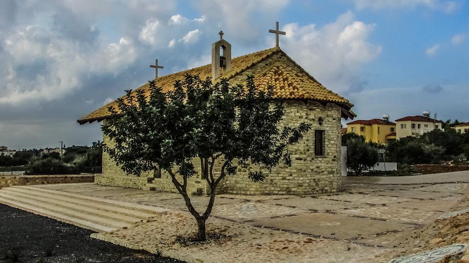 Cyprus, Ayia Napa, Church, Orthodox