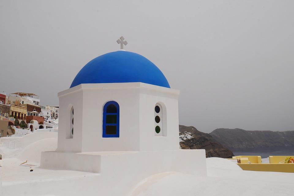 Church, Religion, Faith, Orthodox, Santorini