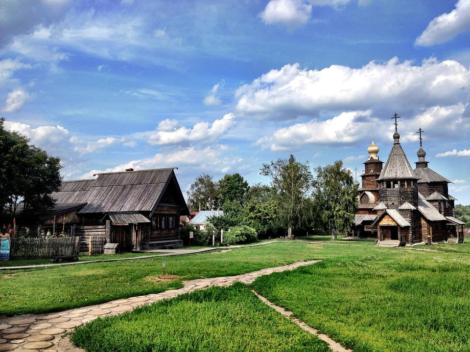Suzdal, Wooden, Church, Russia, Ancient, Orthodox