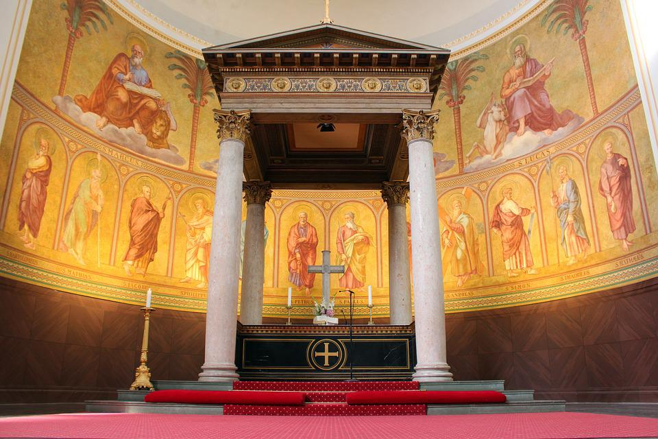 Church, Nikolai Church In Potsdam, Church Painting
