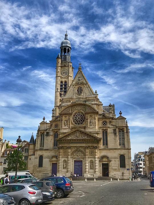 Cathedral, Church, Paris, Architecture, Landmark