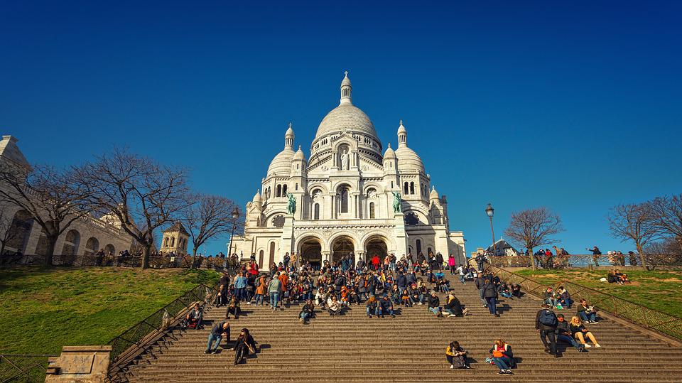 Paris, Church, Sacre Coeur, Personal, Architecture
