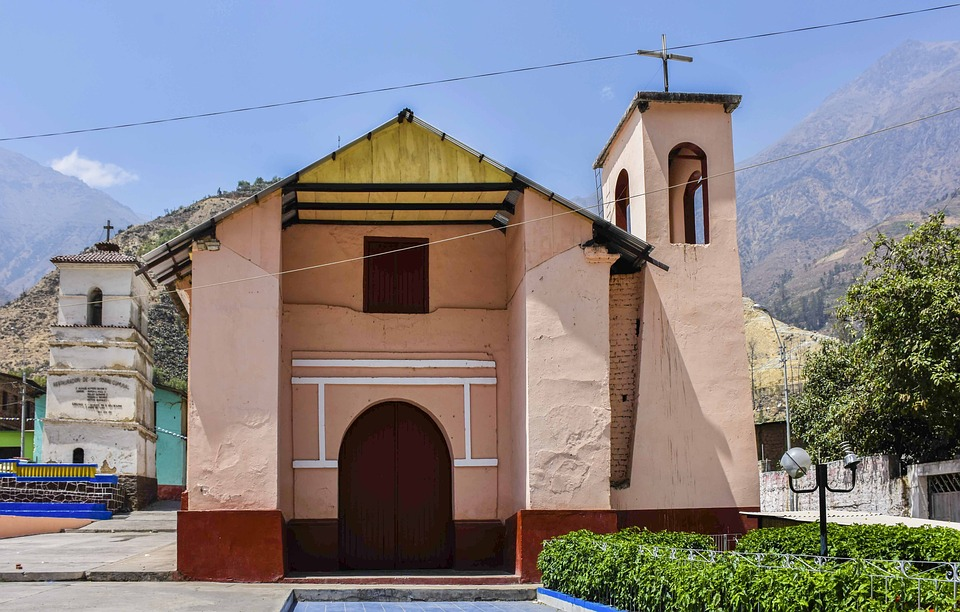 San Jeronimo De Surco, Church, Peru, Architecture, Lime