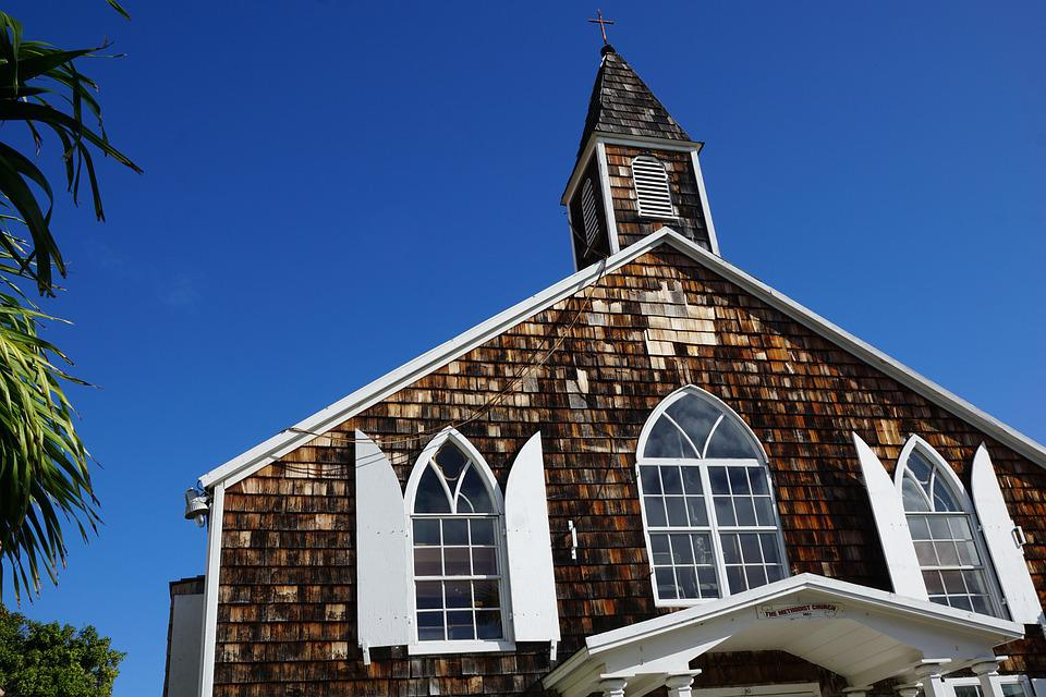 Philipsburg, St Maarten, Caribbean, Church