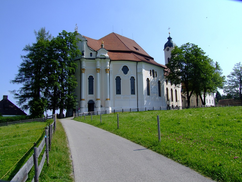 Church, Pilgrimage Church, Pilgrimage Church Of Wies