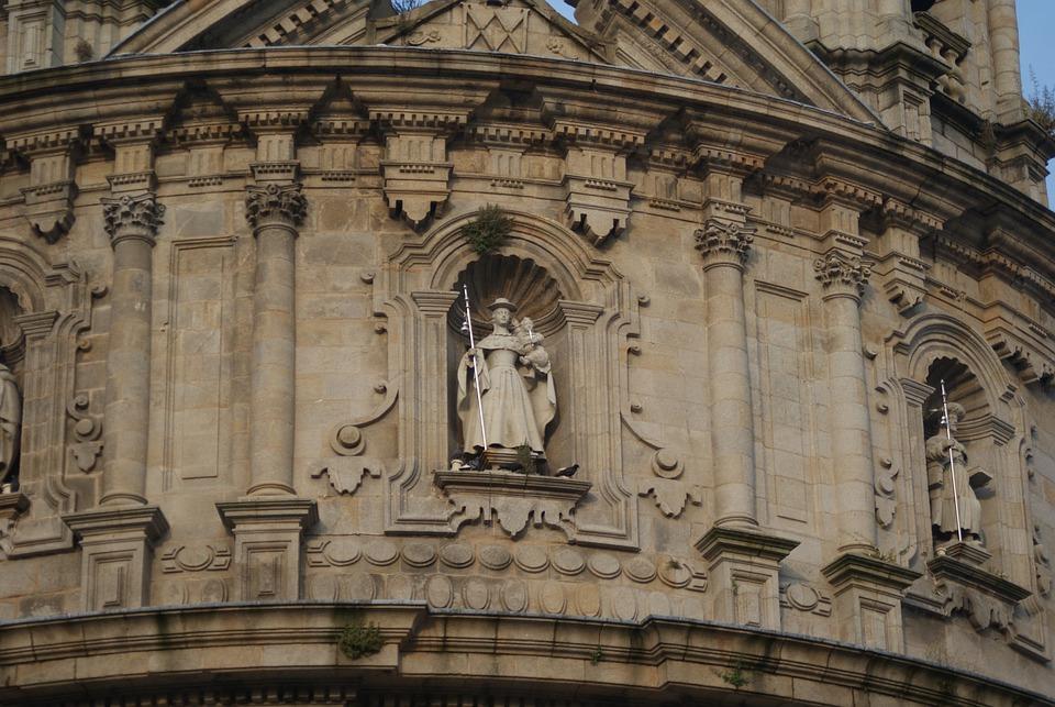 Peregrina, Pontevedra, Church