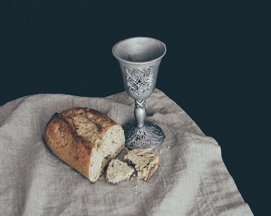 Bread, Communion, Eucharist, Church, Religion
