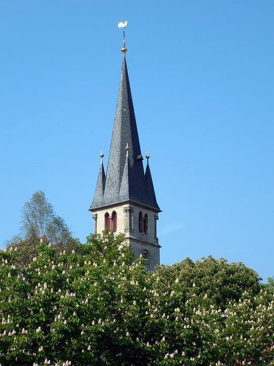 Church, Religion, Steeple, Catholic, Christianity