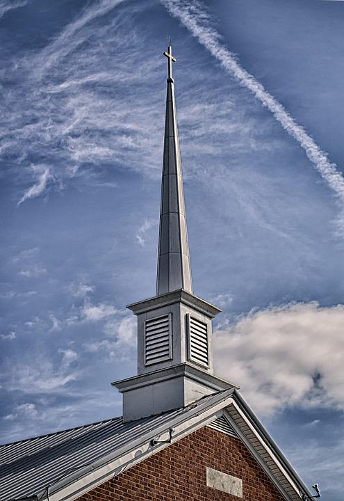 Landscape, Church, Baptist, Religion, Sky, Kentucky