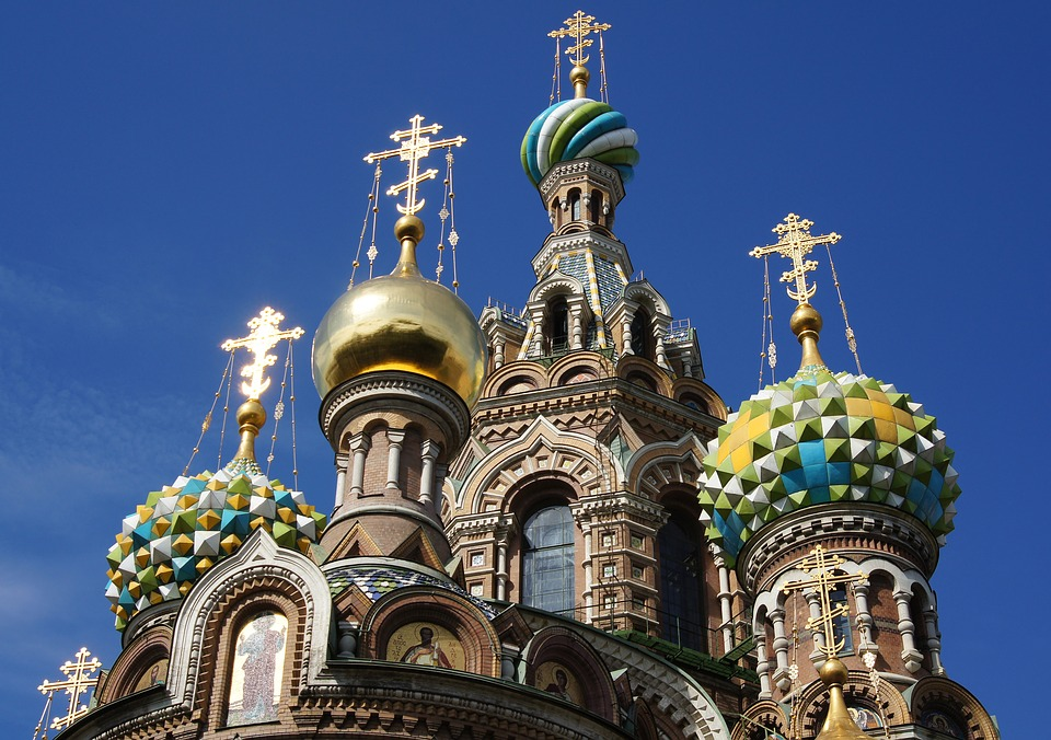 St Petersburg, Spilled Blood, Church, Religion