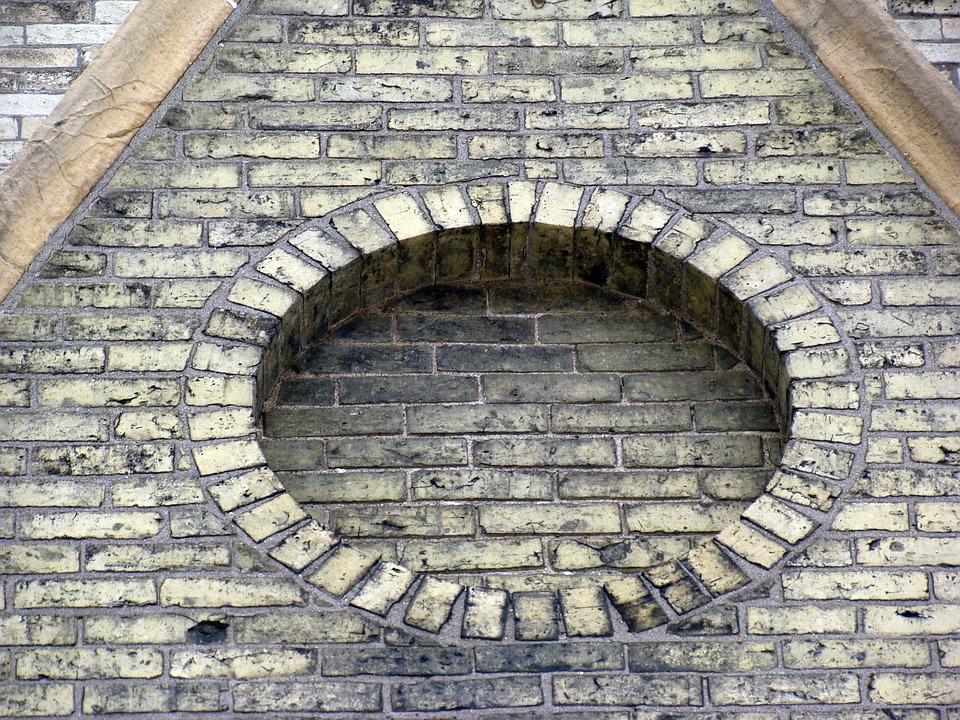 Brick, Circle, Church, Pattern, Texture, Round