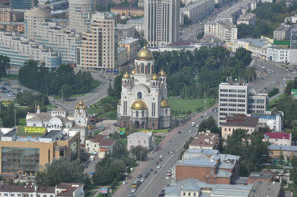 Ekaterinburg, Russia, Church