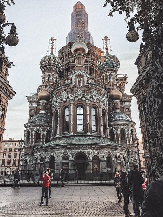 Church, City, Travel, Russia, Summer, House