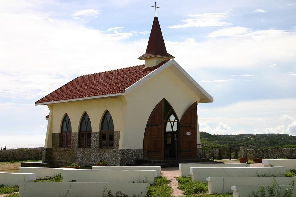 Church, Architecture, Caribbean, Aruba, Silence, Relax