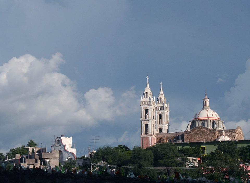 Church, Sky, Landscape