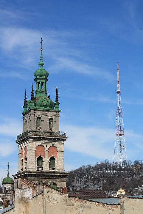 Architecture, Tower, Old, Travel, Sky, Church, Dome