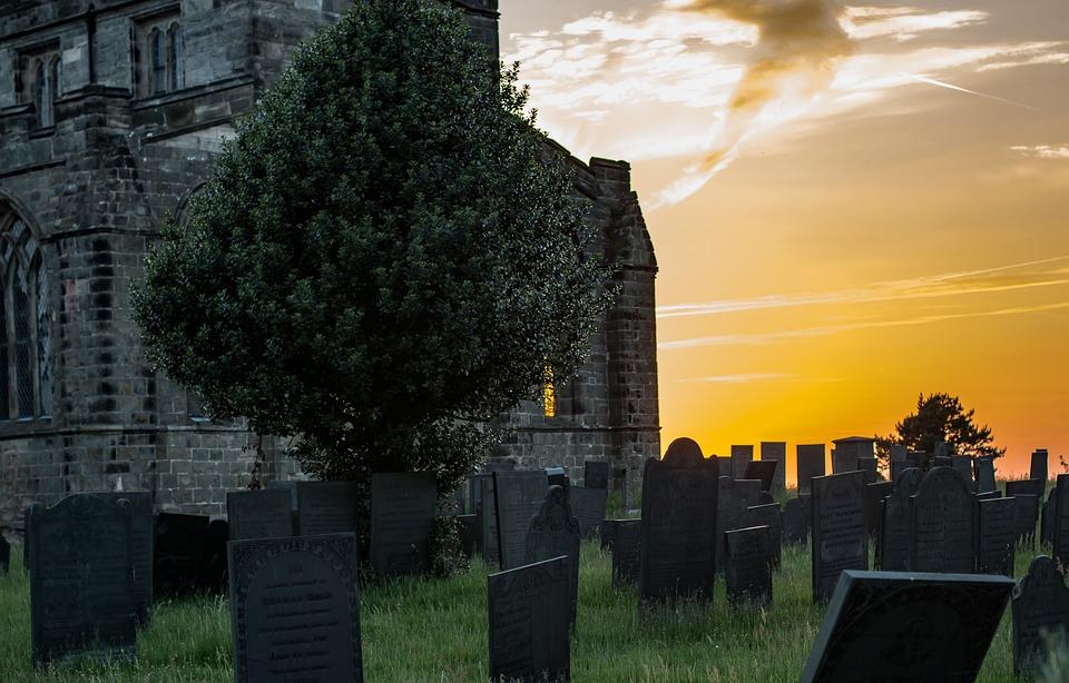 Church, Sunset, Religion, Sky, Landmark, Travel