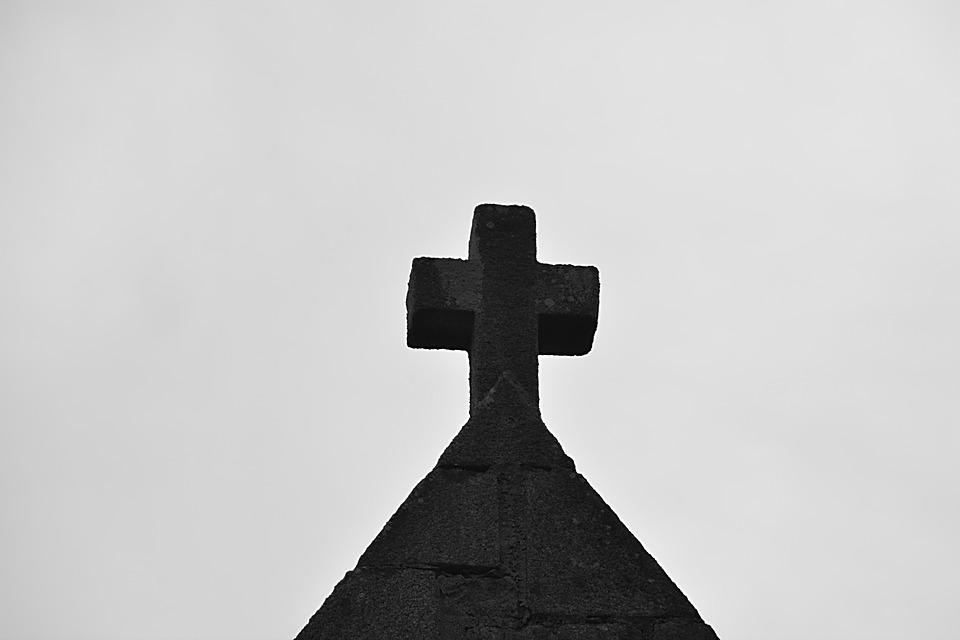 Cross, Church, Religion, Heritage, Sky, Chapel, Village