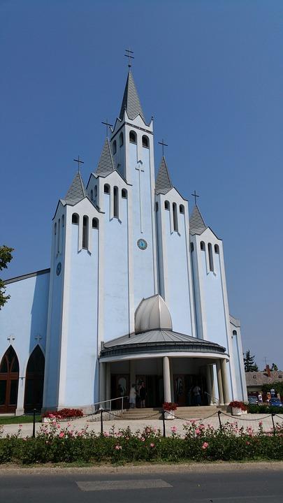 Building, Church, Skyline
