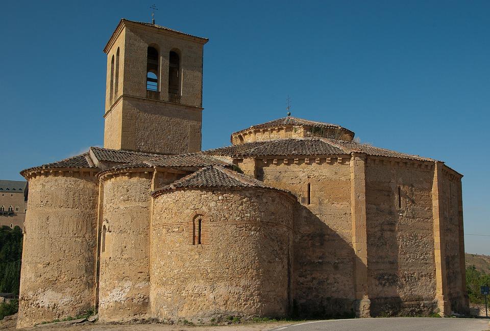 Spain, Segovia, Church, Romanesque Art