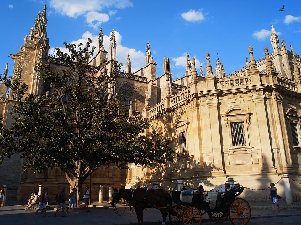 Spain, Seville, Church