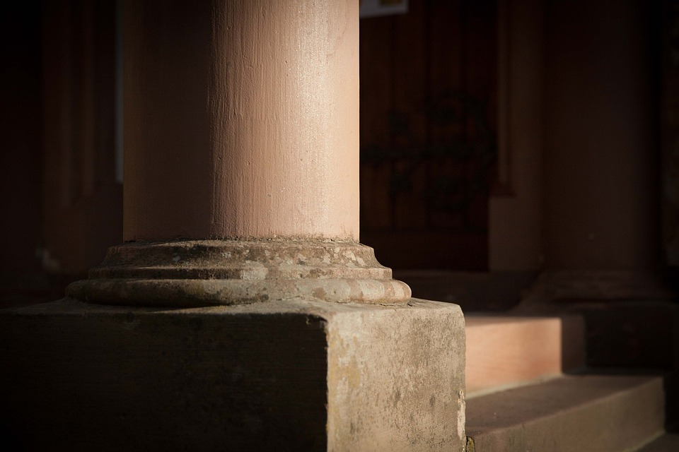 Church, Pillar, Staufen, Religion, Architecture