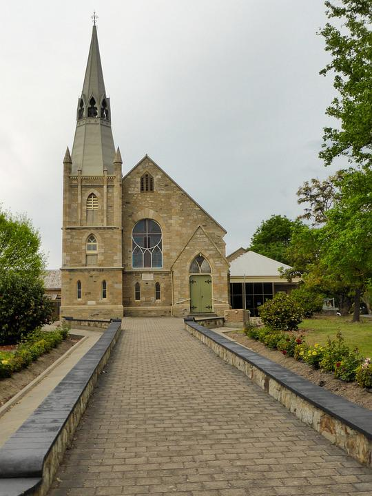 Church, Hahndorf, Landmark, Spire, Steeple, Worship