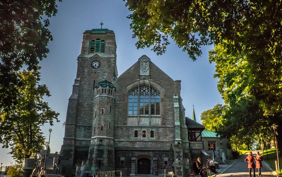 Stockholm, Church, Sweden, Architecture, Building