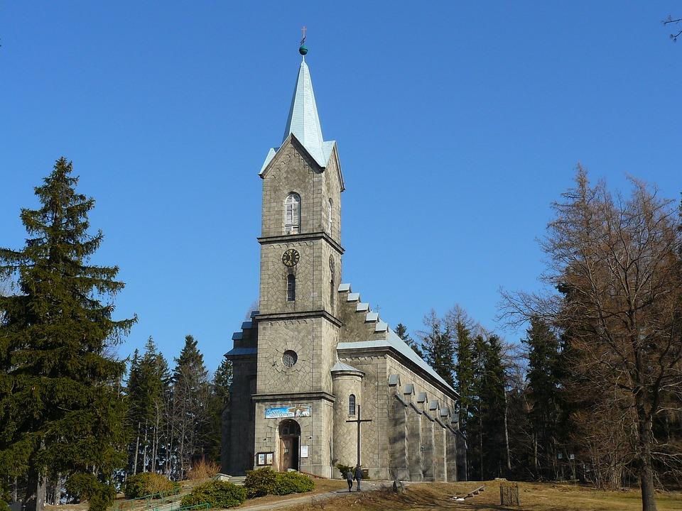 Church, Architecture, Building, Stone Church