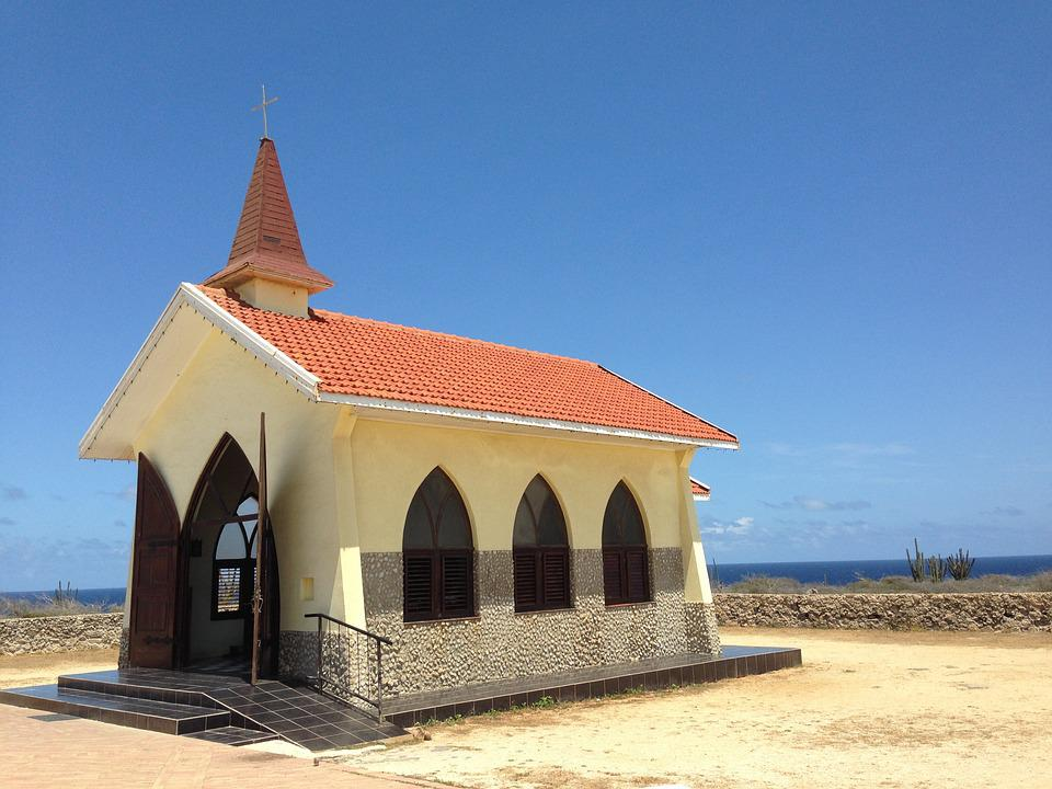 Church, Old, Summer