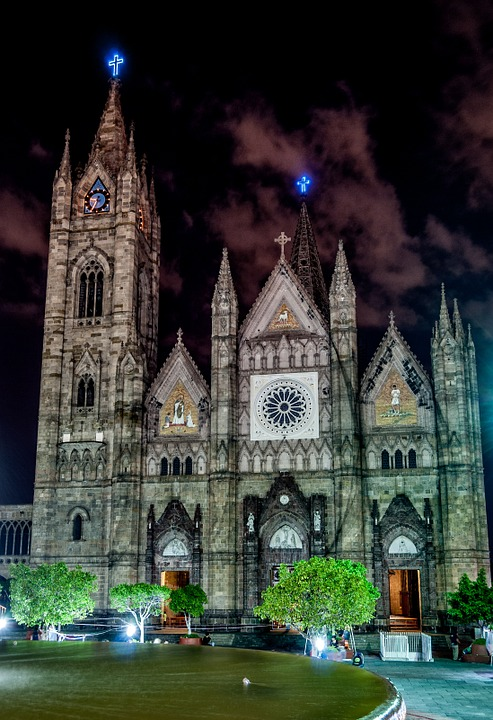 Church, Night Photography, Buildings, Temples
