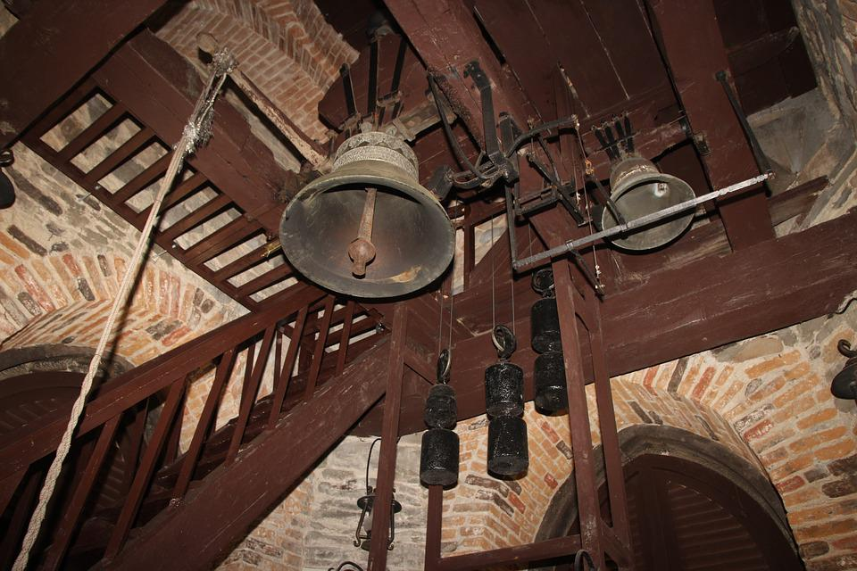 Tower, Bell, Church