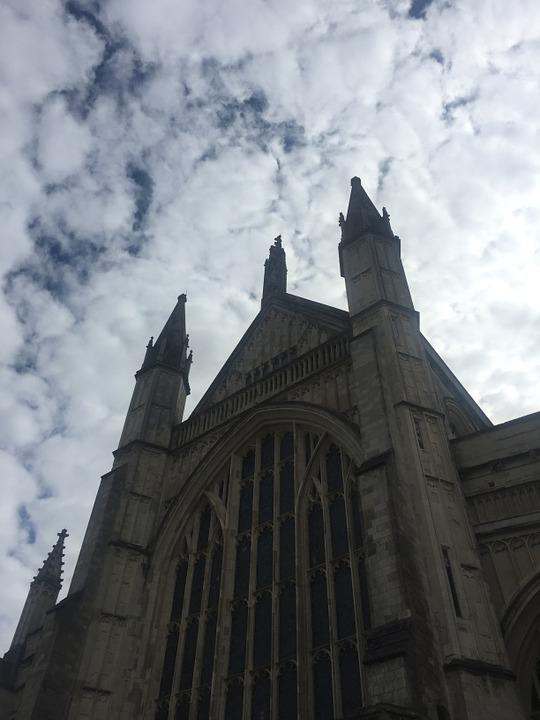 Cathedral, Sky, Architecture, Church, Building, Tower