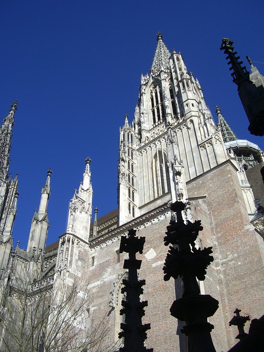 Ulm Cathedral, Building, Church, Gothic, Architecture