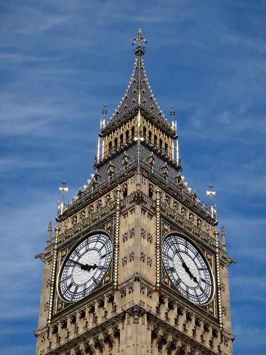 Big Ben, United Kingdom, Church, Building