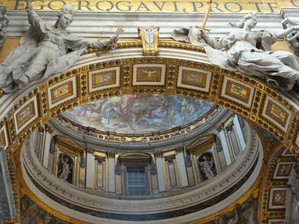 Vatican, Detail, Architecture, St Peter's, Church