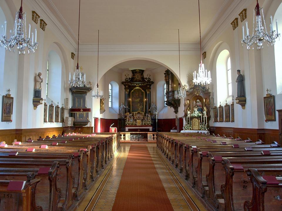 Waidhofen, Ybbs, Hl Florian, Church, Interior, Aisle
