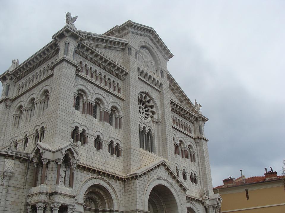 Building, Church, White, Limestone