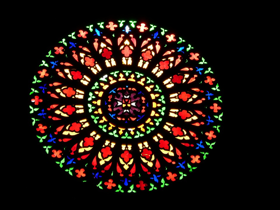 Church Window, About, Colorful