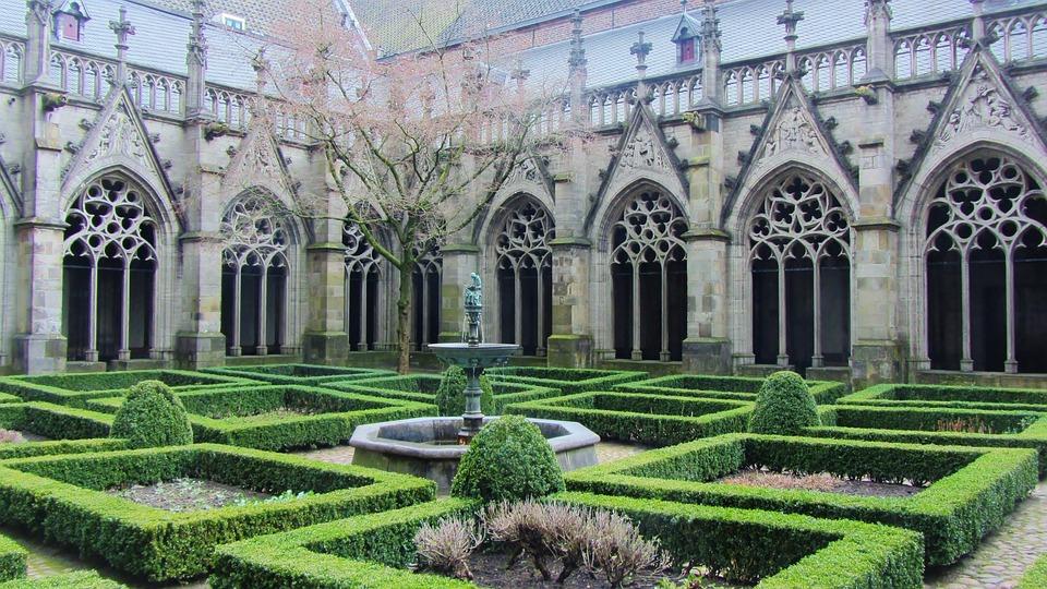 Church, Buxus, Faith, Holy, Statue, Church Window