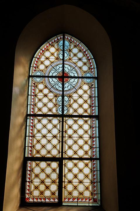Window, Church Window, Stained Glass, Colorful Glass