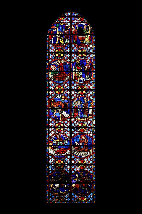 Church Window, Glasmalereie, Glass Window