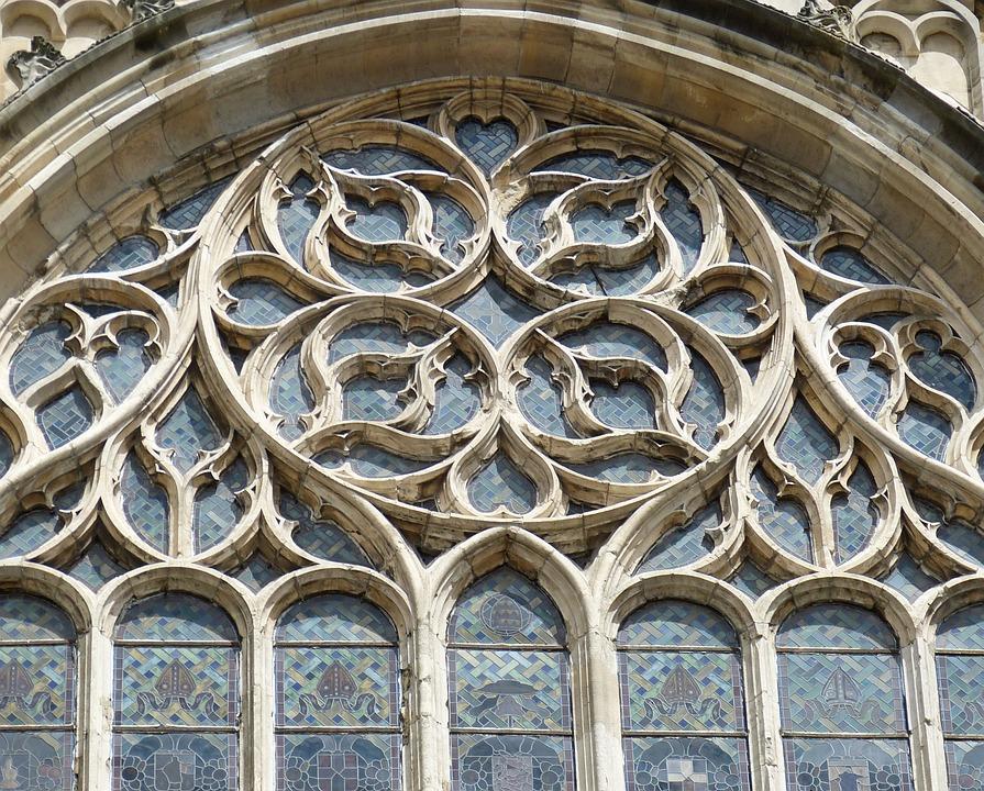 Church, Window, Church Window, Gothic, Historically