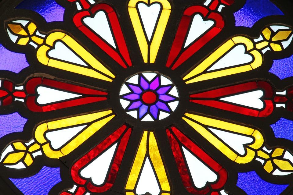 Church Window, Stained Glass, Church, Window