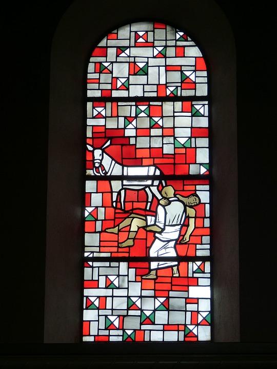 Window, Church Window, Church, Stained Glass Window