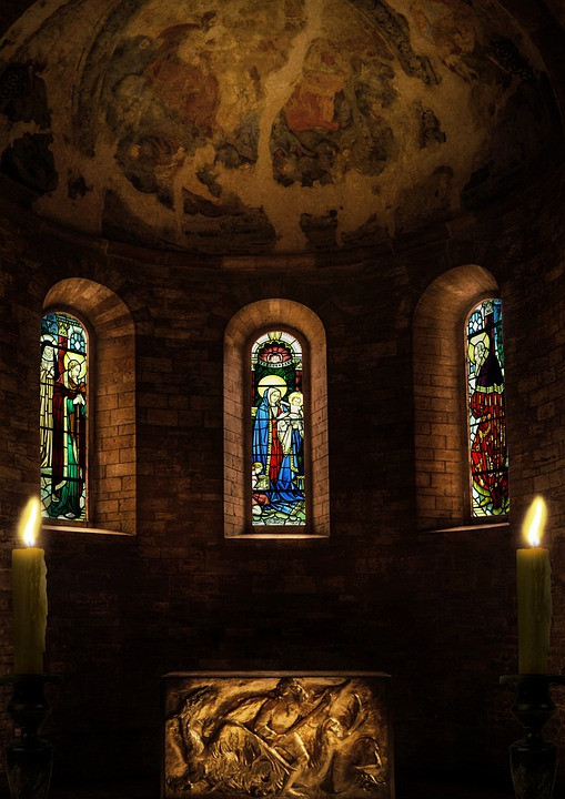 Church, Altar, Window, Church Window, Nave, Religion