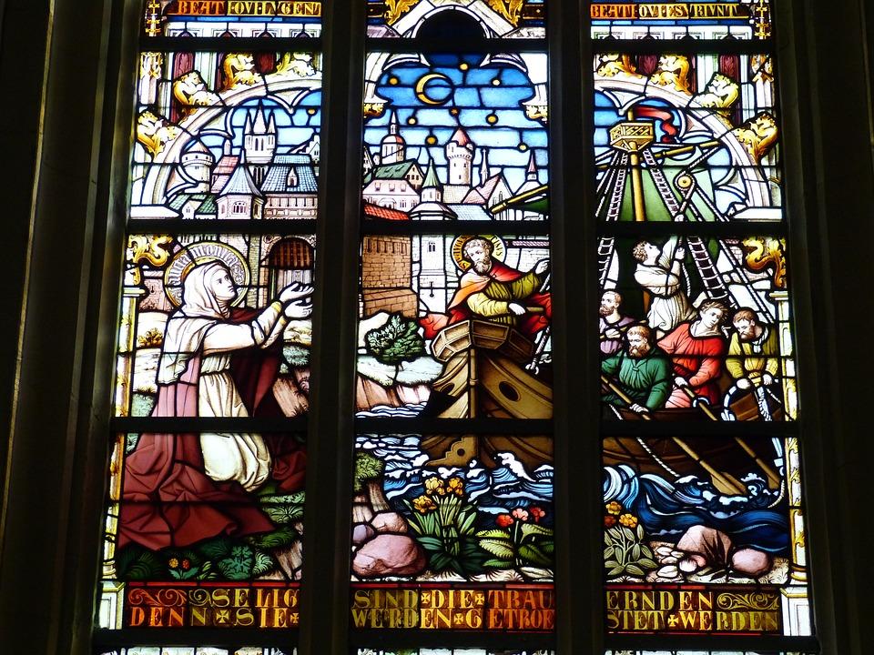 Church, Window, Church Window, Stained Glass